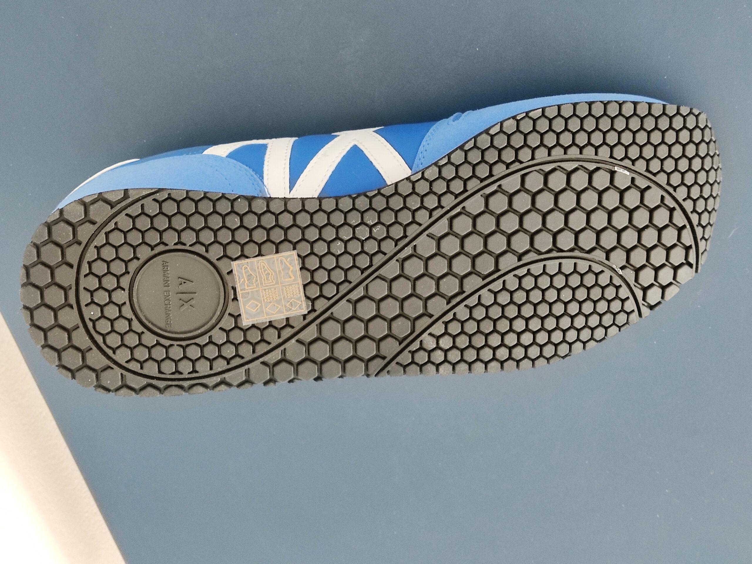Vendo Sneakers Taglia 42 Azzurro ARMANI Uomo - Benvenuti ...